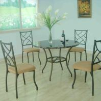 Brook-dining table set